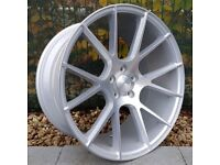 "19"" Staggered Veemann V-FS23 on tyres for an E90, E91, E92 and E93 BMW 3 Series"