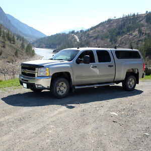 2010 Chevrolet Silverado 2500hd grey Pickup Truck