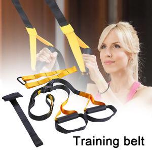 TRX Suspension Trainer Training Strap Basic Kit & Door Anchor Full Body Workout