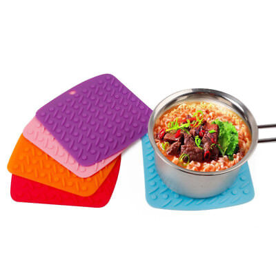 Multifunction Hot Pads Silicone Pot Holders Durable Non Slip Pads Kitchen Tools