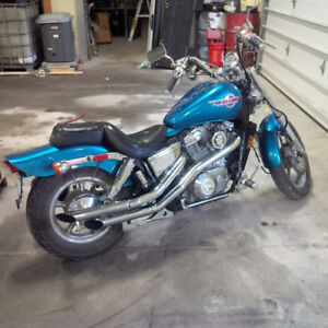 Honda Shadow in amazing condition looking for someone to ride it