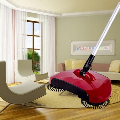 Household Hand Push Sweeping Broom 360 Rotary Floor Dust Cle