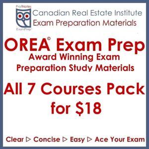 ●OREA● Real Estate Exam Preparation Toronto gta