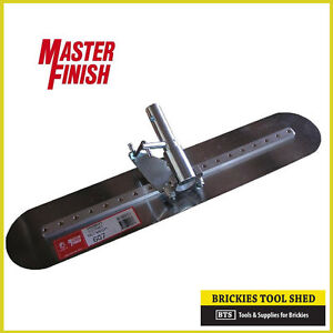 Master Finish Fresno Trowel 900mm Concrete Tool - NEW