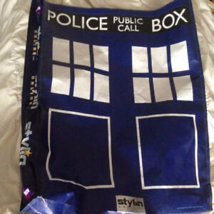 Dr Who Christmas Stocking Giant Tardis Bag