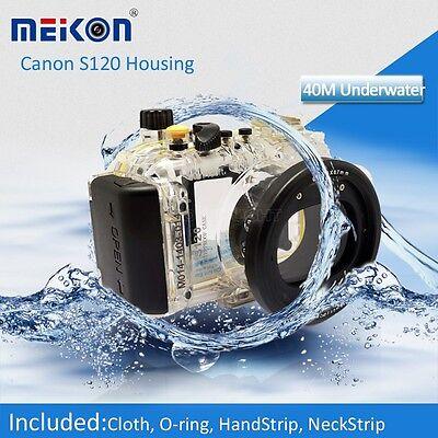 Underwater Waterproof Housing Camera Case Bag for Canon PowerShot S120 Camera