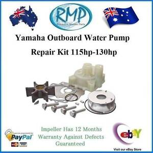 Water Pump Kit Suits Yamaha 115hp-130hp # R 6N6-W0078 + 61A-44311 Helensvale Gold Coast North Preview