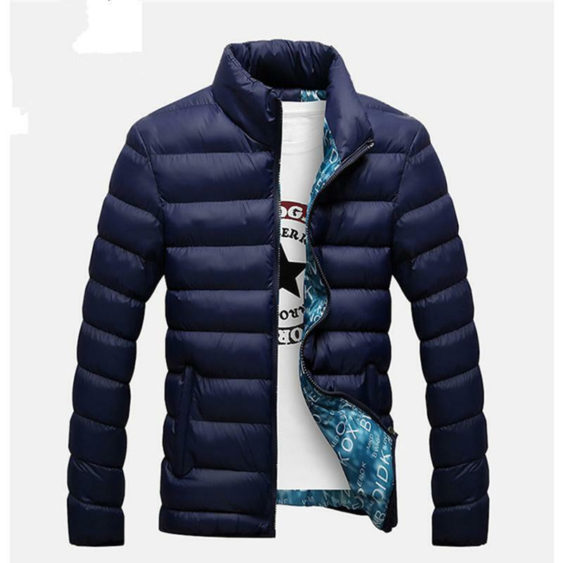 2018 New Jackets Parka Men Hot Sale Quality Autumn Winter Warm Outwear Brand Sli