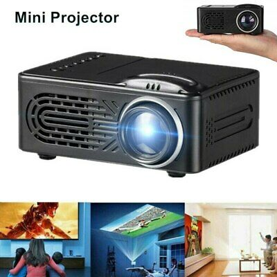New Portable Mini Full HD 1080P 3D Home Theater Projector LCD LED AV USB TF UK