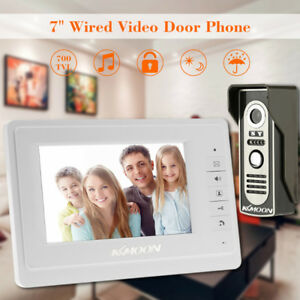 Door Wired Intercom System