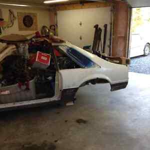 1985 Mustang GT project