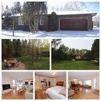 Massive Bungalow in White City on .63 Acres - 26x32 Heated Shop
