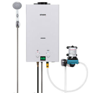 Onsen 10L Portable Tankless Water Heater w/ 12v Pump