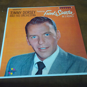 LP: Tommy Dorsey, featuring Frank Sinatra in 5 Vocals