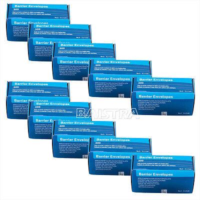 20 Boxes Dental Barrier Envelopes 34cm 2 Digital X-ray Scanx Phosphor Plates