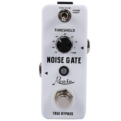 Rowin Guitar Noise Killer Noise Gate Suppressor Effect Pedal Y5Z7