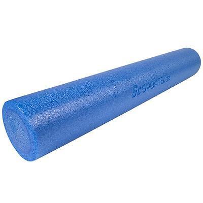 Pilatesrolle Blau Pilates Yoga Rolle Foam Fitness Roller Gymnastik 90 x 15 cm