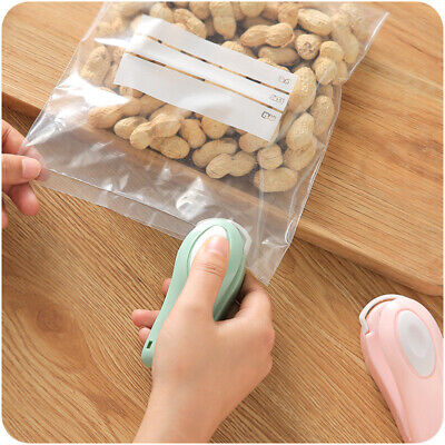 Home Tools Portable Mini Sealing Machine Seal Packing Plastic Bag Sealer Usa
