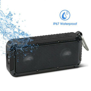 Brand New Waterproof Bluetooth Speaker with LED Flashlight
