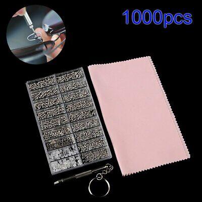 1000pcs Set Kleine Micro Mini Schrauben Uhr Brillen Sortiment Reparatur Werkzeug