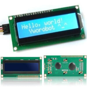 Blue-IIC-I2C-TWI-1602-16x2-modulo-LCD-de-pantalla-para-Arduino-Serial