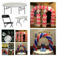 Chairs, Tables and more Party Rentals