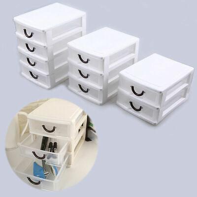 US Multi Layer Plastic Drawer Desktop Storage Box Case Cosmetic Holder (Multi Storage Drawer)
