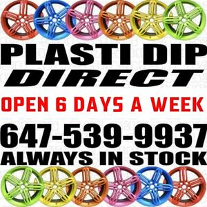 ► EVERY PLASTI DIP COLOUR ON THE PLANET◄ 647-539-9937