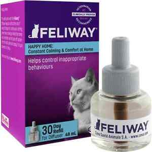 Ceva Feliway Pheromone 30 Day Diffuser Refill - Reduces Stress in Cats