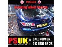 Mazda 6 (2006) Blue Breaking Whole Vehicle