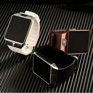 Unlocked smart watch phone with sim slot and sd memory slot