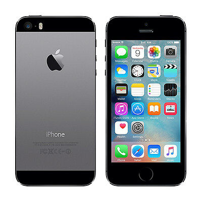 Apple iPhone 5s - 16GB - Space Gray (AT&T) Smartphone CLEAN ESN