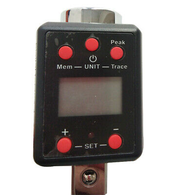Digital Torque Meter Wrench Tester Testing Machine 34 100-500n.m No Battery