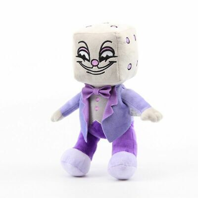 11'' Cuphead S1-King Dice Plush Toy Cuphead & Mugman the Devil Boss Kids GIft US