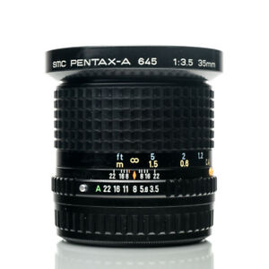 SMC Pentax-A 645 35mm F3.5 Wide Angle | Medium Format Lens