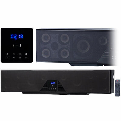 Soundbox: 6-Kanal-3D-Soundbar, 5.1-Surround-Sound, Bluetooth 4.0, HDMI, 250 Watt