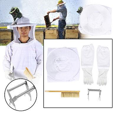 Neu Imkeranzug Bienenanzug Imkerschutzanzug Handschuhe Imker Overall Werkzeuge
