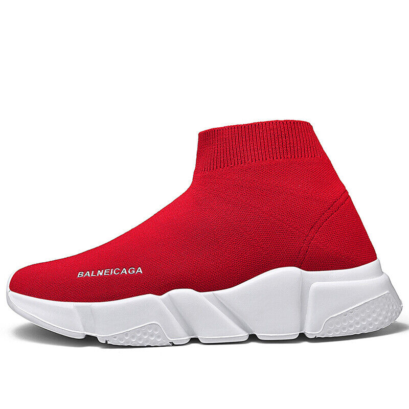 Men Sock Shoes Sneakers Outdoor Running Casual Sports Athletic Plus Size Fashion