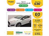 Ford Fiesta ZETEC FROM £36 PER WEEK!