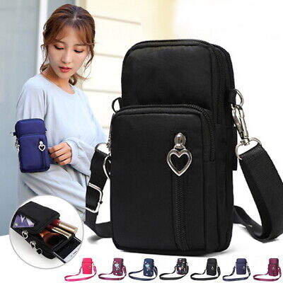 Mini Cross-Body Cell Phone Holder Bag Shoulder Strap Wallet