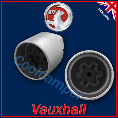 Locking Wheel Bolts 12x1.5 Nuts Tapered for Vauxhall Adam 13-16
