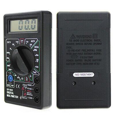 New Craftsman Digital Multimeter Volt Ac Dc Tester Meter Voltmeter Ohmmeter Us