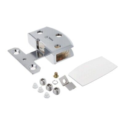Furniture Chrome-plated Glass Door Hinge Cupboard Cabinet Gate Clamp Hardware (Chrome Glass Cabinet)