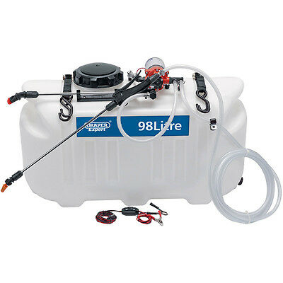 Garden Sprayer 12 volt, 98 litre, Broadcast 15ft and spot spray- Free Post phone