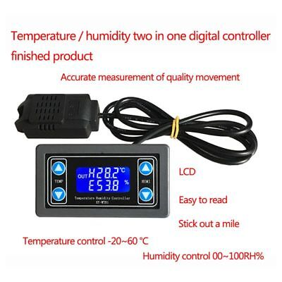 Xy-wth1 Digital Humiditytemperature Controller Thermostat Hygrometer Regulator