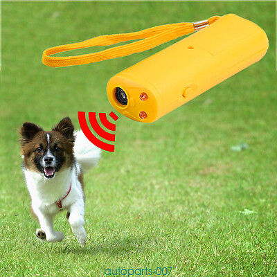 Anti Bark Device Dog Training Repeller Ultrasonic Anti Bark Stop Barking Tool uk