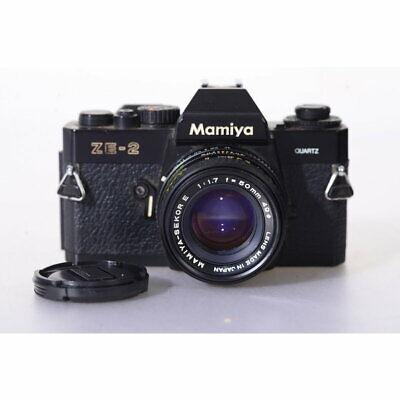 Mamiya ZE-2 Quartz Kamera mit Sekor E 50mm 1:1.7 - Kleinbild-Spiegelreflexkamera