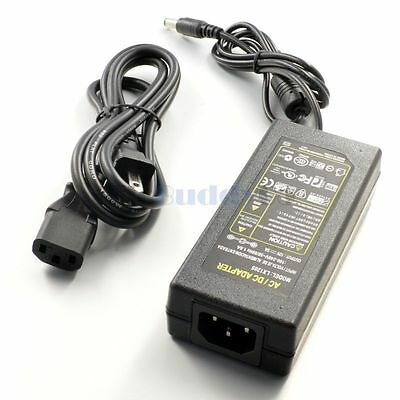 Ac 100-240v To Dc 12v 5a 60w Power Supply Adapters For Led Strip Light Us Plug