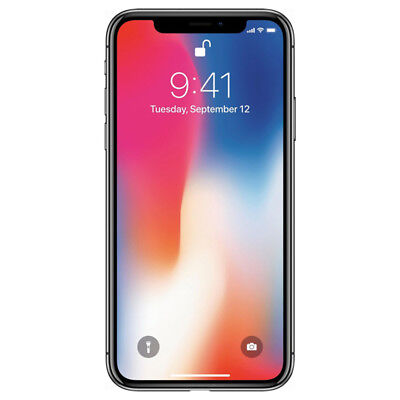Apple iPhone X 256GB US Unlocked CDMA + GSM Space Gray MQA82LL/A