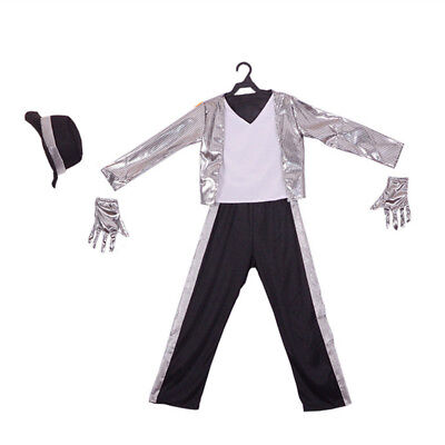 Halloween Costume Superstar Michael Jackson Suits Children Cosplay Holiday Party